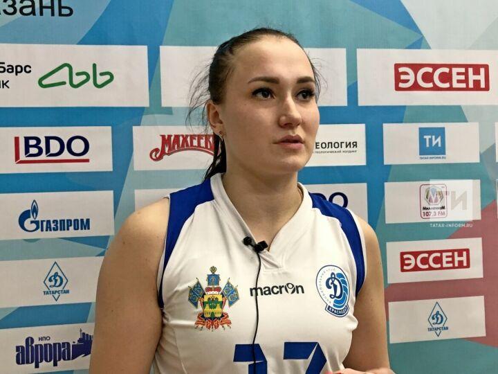 Доигровщица краснодарского «Динамо» о поражении в Казани: Мы перегорели после первой партии