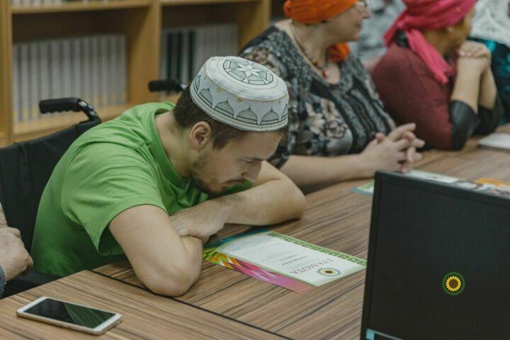 В Казани завершились курсы для инвалидов с нарушениями опорно-двигательного аппарата