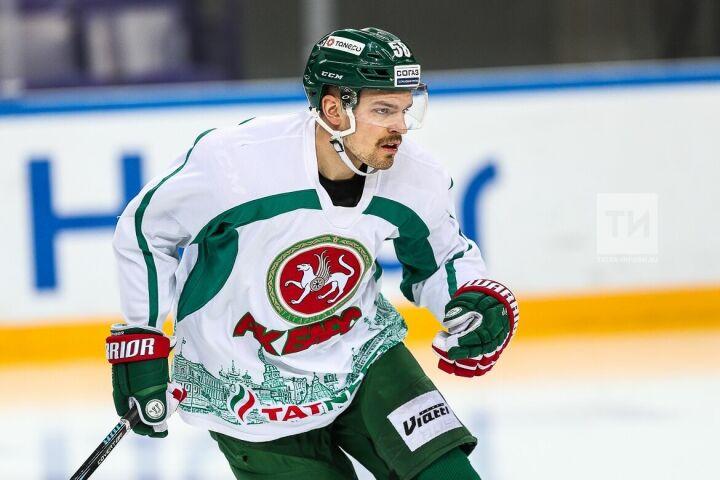 Форвард «Ак Барса» Антон Ландер вызван в сборную Швеции