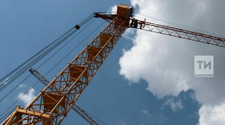 К концу мая 2019 года уберут башенный кран со второго дома ЖК «Молодежный»