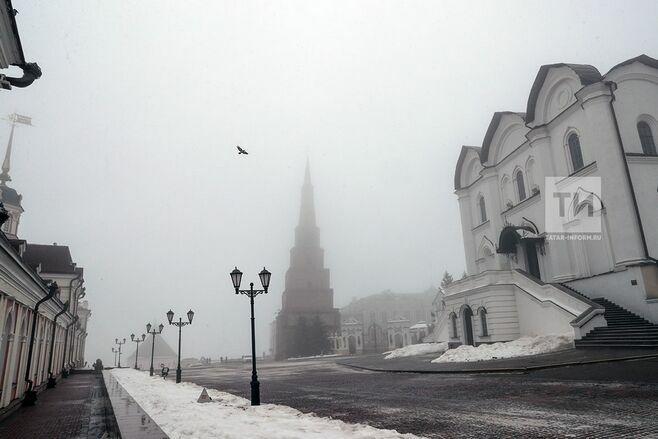 МЧС предупреждает татарстанцев об опасностях при гололеде и тумане