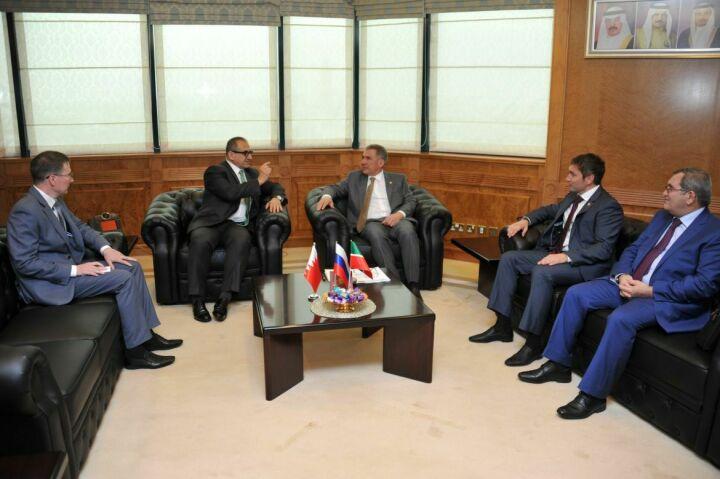 Минниханов проведет переговоры с Шейхом Хамадом бен Ибрахимом Аль Халифой в ходе визита в Бахрейн