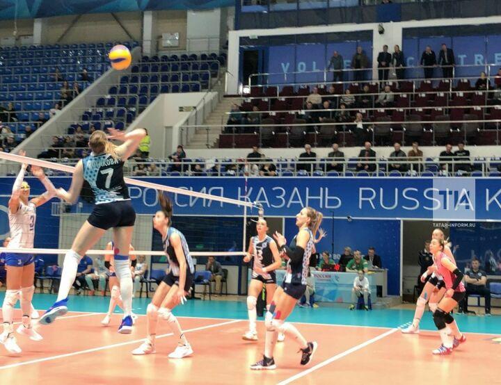 Волейболистки «Динамо-Казани» победили «Динамо» из Краснодара в первом матче серии