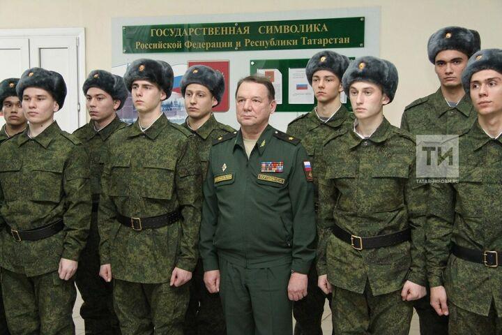 В 2019 году из Казани на военную службу должны отправиться 660 призывников