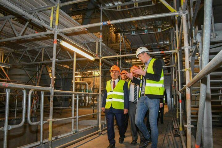 Минниханову рассказали, почему мусоросжигательный завод Amager Bakke построен в центре Копенгагена