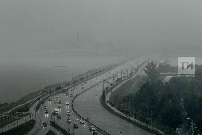 Синоптики Татарстана предупреждают о дождях и тумане