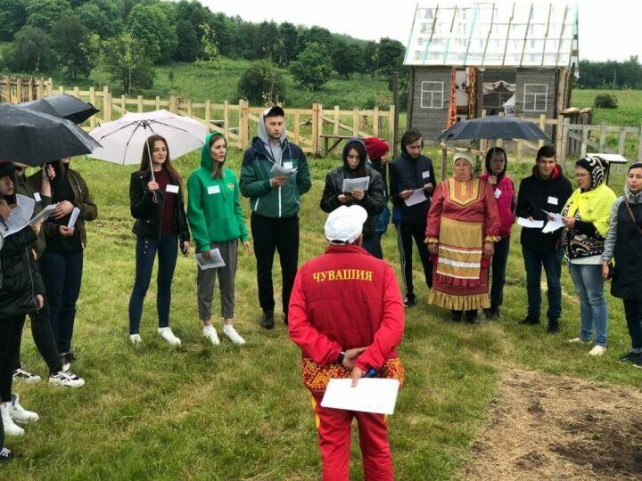 В Альметьевский район РТ съехались участники чувашского молодежного исторического форума