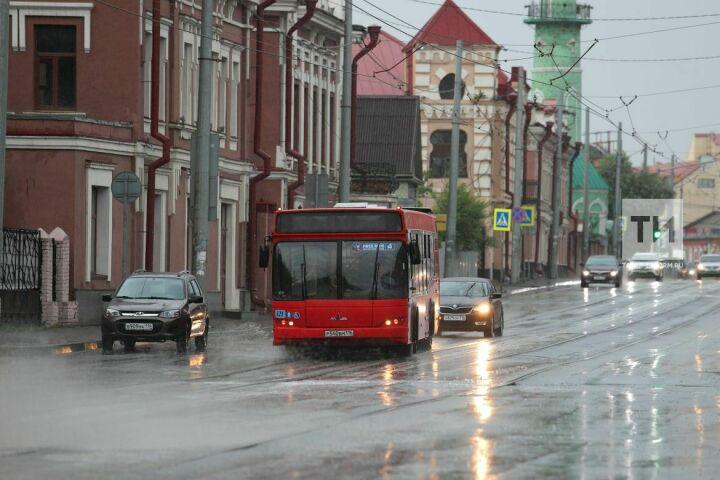 Синоптики Татарстана предупреждают о сильных дождях и грозах с усилениями ветра