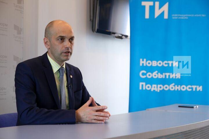 Азат Кадыров: Число желающих стать волонтерами WorldSkills превысило потребность в четыре раза