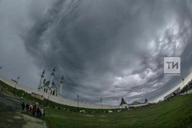 МЧС Татарстана предупреждает о мерах безопасности при граде и сильном ветре
