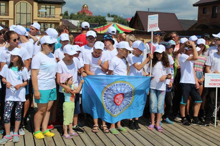 В Лаишево открылась парусная регата «Камское море» и первенство России в классе «Европа»