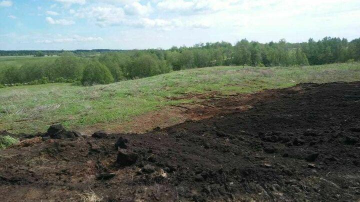 В Новошешминском районе экологи пресекли самовольную разработку полезных ископаемых
