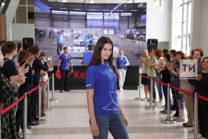 В Казани впервые показали форму волонтеров и оргкомитета WorldSkills