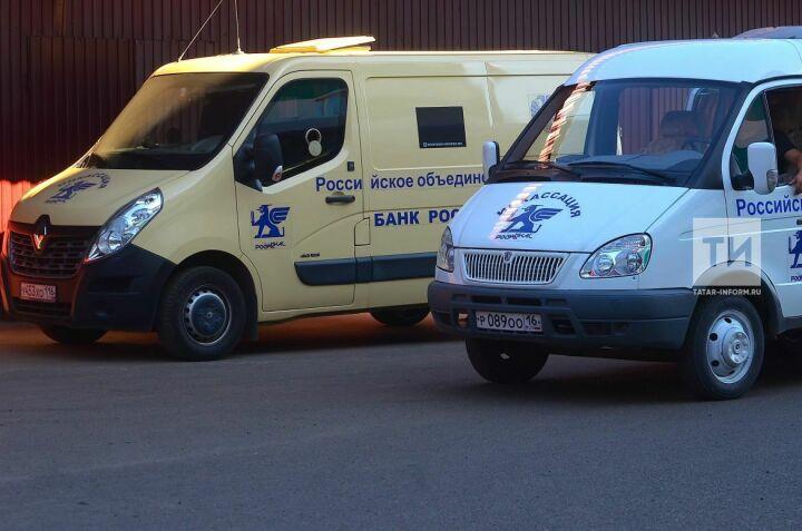 Татарское управление инкассации РОСИНКАС приступило к выпуску бронированных автомобилей