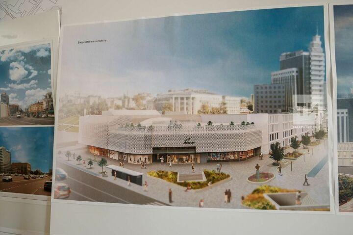 Вконкурсе нареконструкцию ТЦ«Кольцо» вКазани жюри назвало три проекта-фаворита