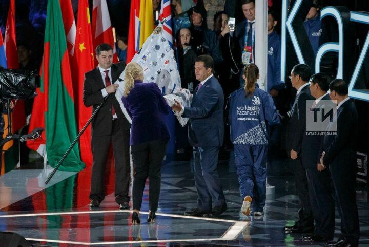 Шанхаю передали флаг движения WorldSkills