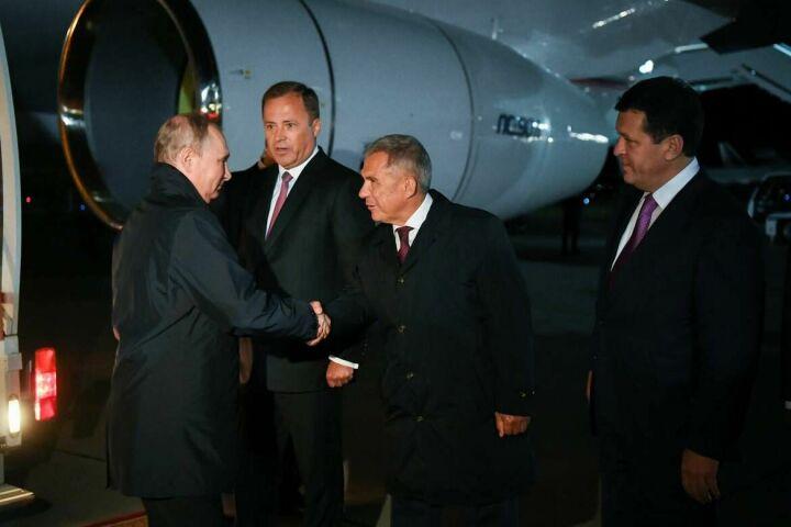 Владимир Путин прибыл в Казань для участия в церемонии закрытия WorldSkills 2019