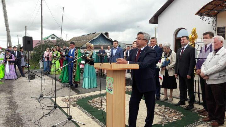 В Бижбулякском районе Башкортостана открыли обновленный музей Фатиха Карима