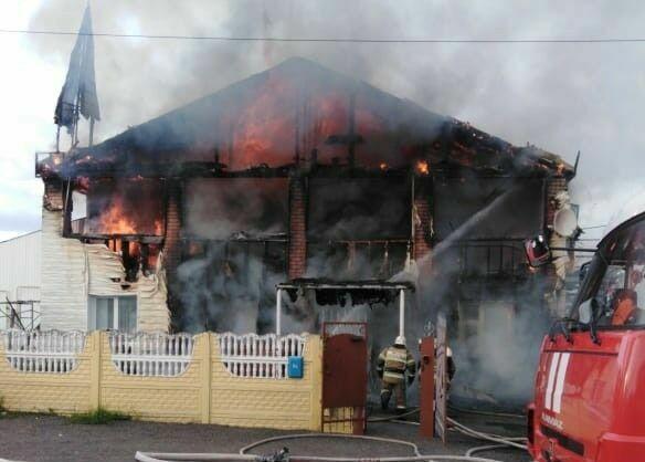 МЧС РТ: Сгоревший в Казани частный детский сад работал без лицензии