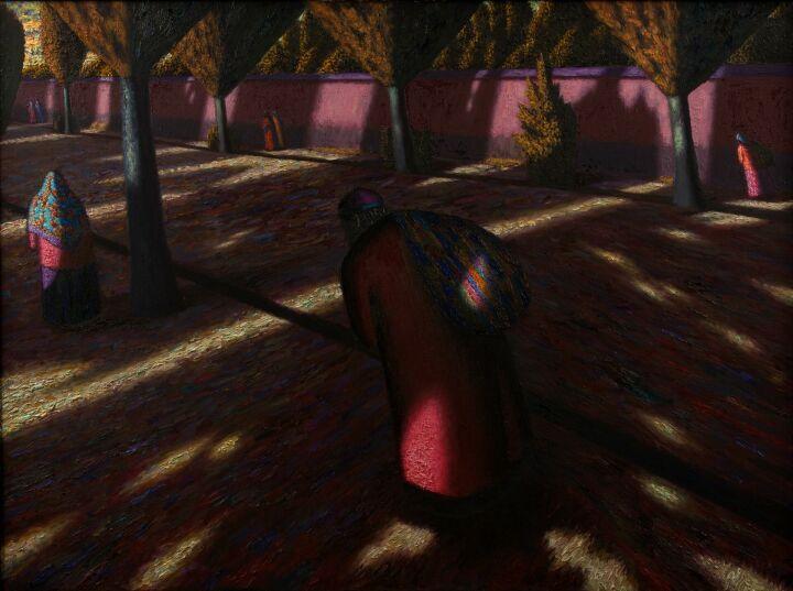 Чаши 19 века из Фонда Марджани и картины с 3D эффектом: В ГСИ открылась выставка Александра Акилова