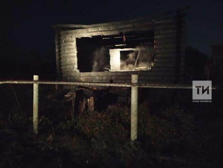 В Русских Кищаках Буинского района Татарстана на пожаре нашли труп мужчины