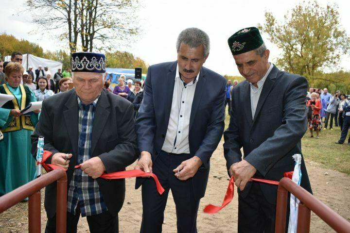 На столетие села Вахитово Верхнеуслонского района открыли родник в честь первого жителя села