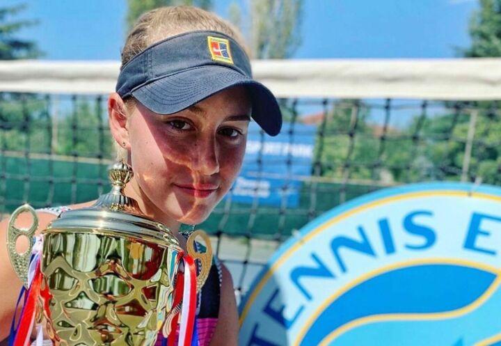 Казанская теннисистка выиграла турнир в Албании