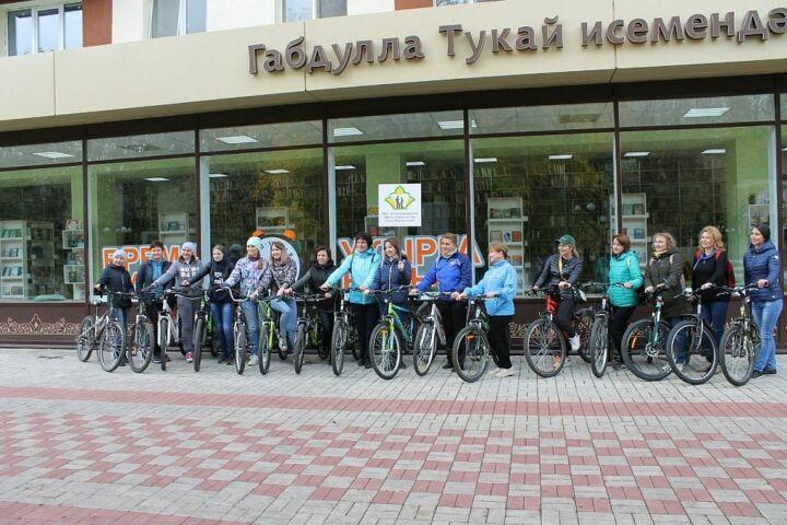 Нижнекамск пересел на велосипеды – тысяча жителей приняла участие в «зеленой» акции