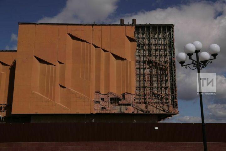 В НКЦ «Казань» после ремонта восстановят оригинальный фасад