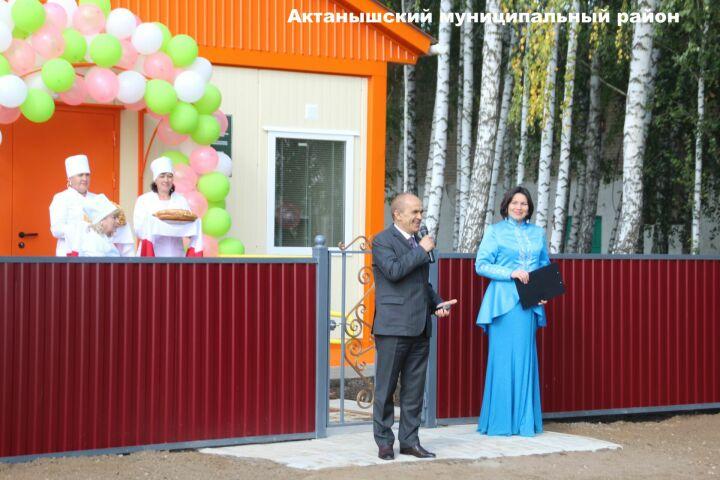 В Актанышском районе успешно введен в эксплуатацию фельдшерско-акушерский пункт
