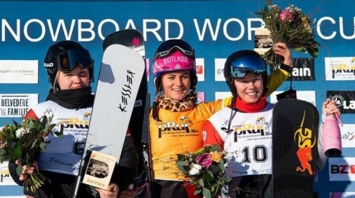 Татарстанка Милена Быкова взяла «бронзу» этапа Кубка мира по сноуборду