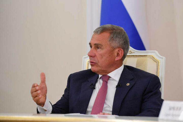 Минниханов: Госсовет РФ – это эффективная форма работы