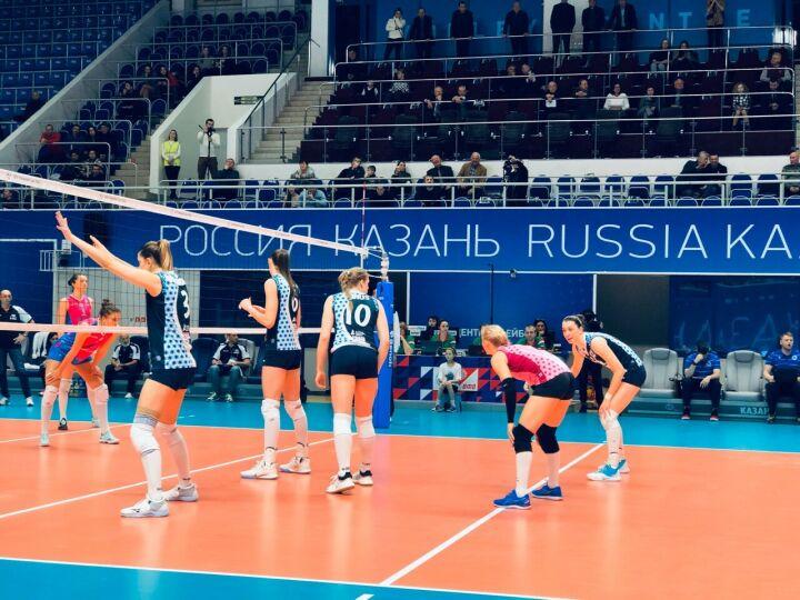 Неожиданно простая победа: волейболистки «Динамо-Казани» удачно выступили в Кубке ЕКВ