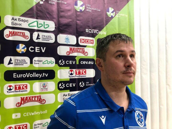 Тренер «Динамо-Казани»: Сегодня победили за счет агрессивной подачи и блока