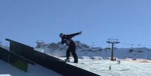 Представитель Татарстана победил на этапе Кубка мира по сноуборду