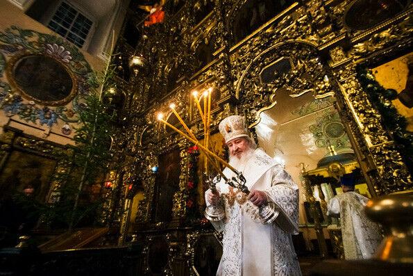 Рождественскую службу митрополит Феофан совершит в Петропавловском соборе в Казани