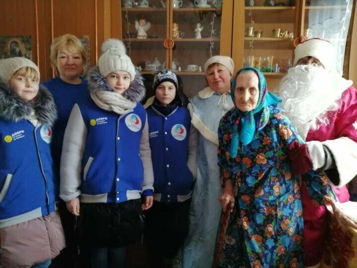 Спасские волонтеры присоединились ко всероссийской акции «С Новым годом, ветеран!»