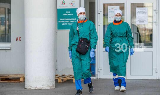Стаж медикам Татарстана, работающим сбольными Covid-19, учтут вдвойном размере