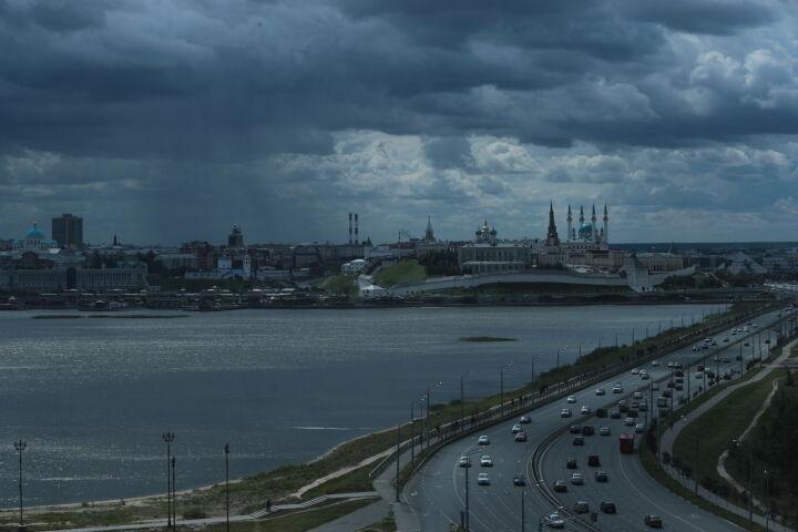 В Татарстане ожидается облачная погода с сильным ветром