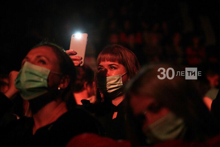В Татарстане организаторов крупных мероприятий обяжут следить за ношением масок
