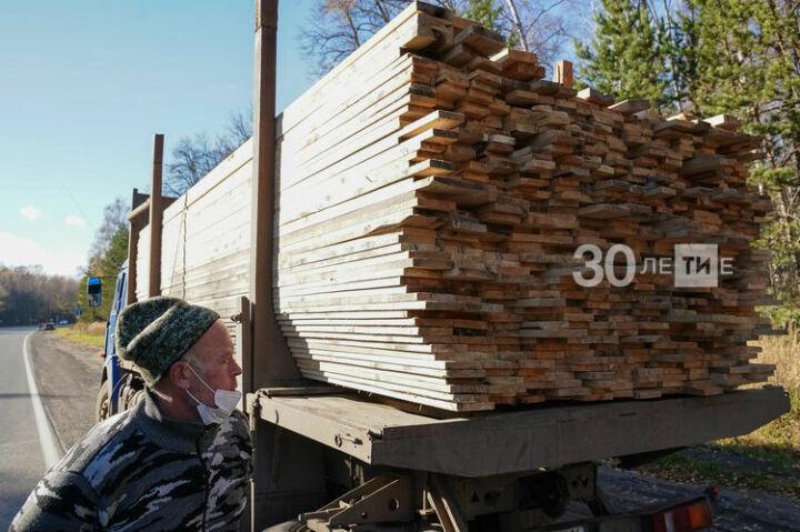 В Татарстане в 2020 году выявили три случая нелегальной перевозки древесины