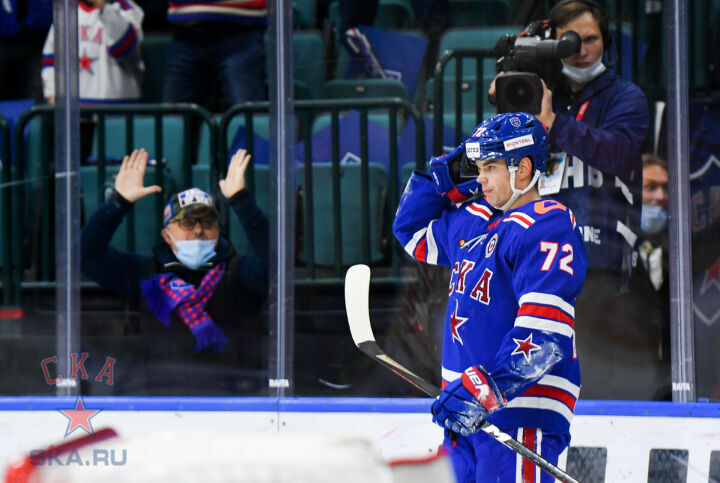 Экс-форвард «Ак Барса» о своем хет-трике: Просто соскучился по хоккею