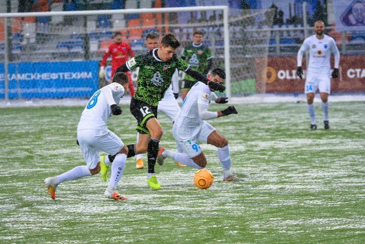 Футбольный клуб «Нефтехимик» потерпел пятое поражение подряд