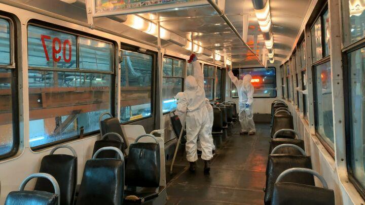 Исполком Челнов: Водитель должен остановить автобус, если пассажир снял маску