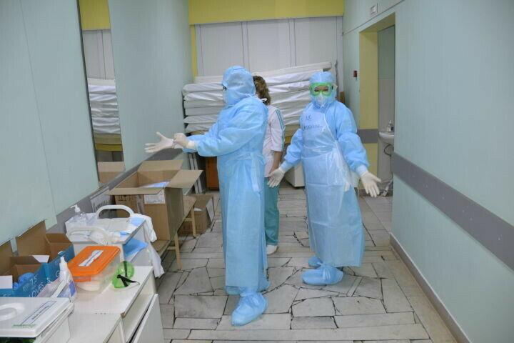 В Мензелинском Covid-госпитале вылечили сто пациентов с коронавирусом