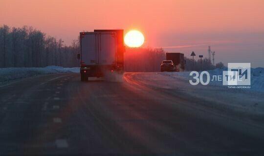 В Татарстане ночью ожидается до 23 градусов мороза