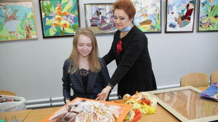 В Сармановском районе открыли обновленную художественную школу