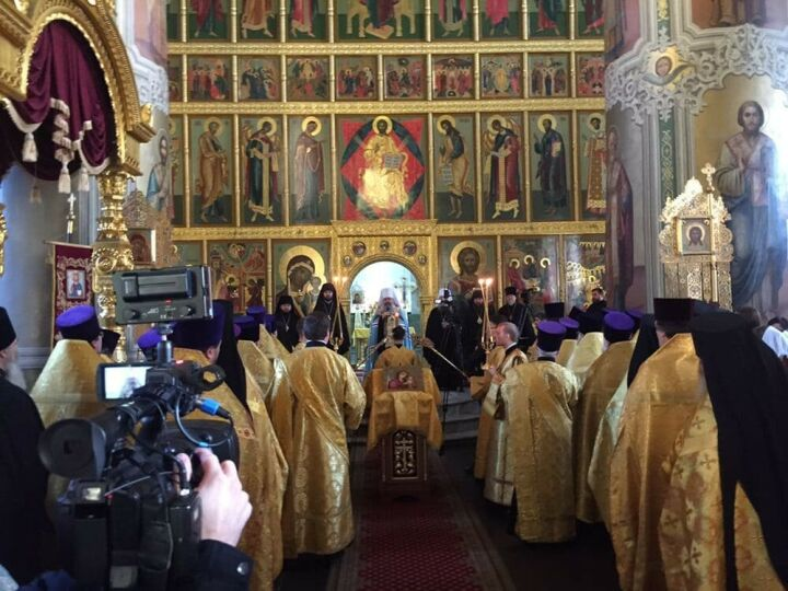 Первый молебен отслужил в Татарстане митрополит Кирилл