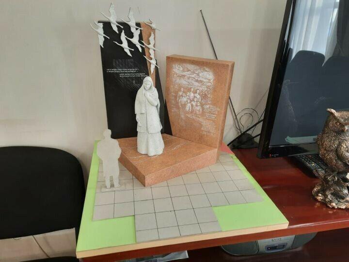 В Мамадыше появится памятник матери-героине по эскизам челнинского скульптора