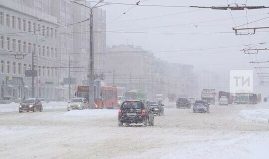 В Татарстане ожидаются снег и слабая метель